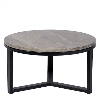 Charrell - SIDE TABLE SPLENDID-MARBLE TOP DIA 60 - DIA 60 H 30