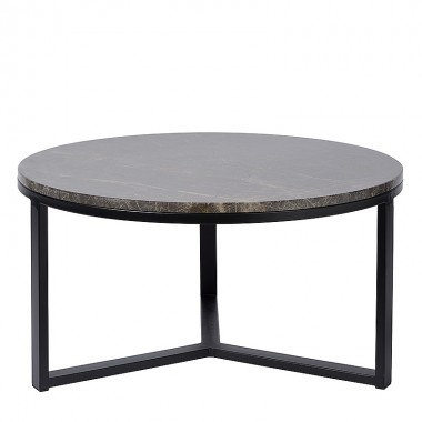 Charrell - SIDE TABLE SPLENDID-MARBLE TOP DIA 80 - DIA 80 H 42 CM