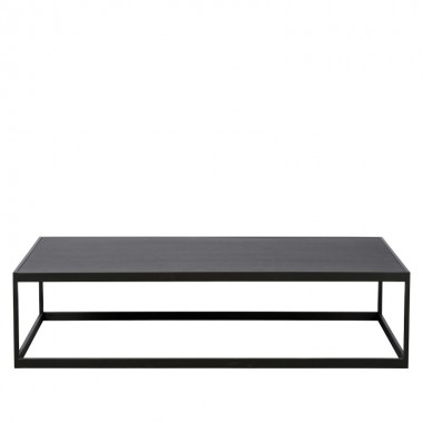 Charrell - COFFEE TABLE HYATT 160/80 - WOOD - 160 X 80 - H 40 CM