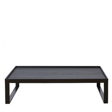 Charrell - COFFEE TABLE MADDOX 120/100 - 120 X 100 - H 30 CM