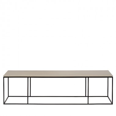 Charrell - COFFEE TABLE FERRUM FINE 150/40 - 150 X 40 - H 38 CM