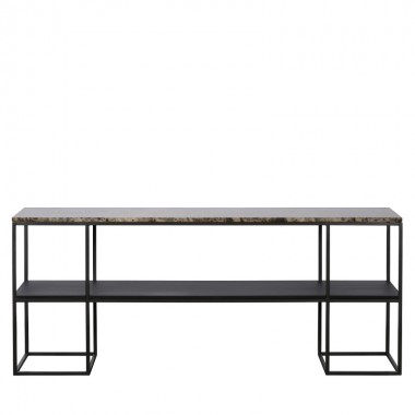 Charrell - CONSOLE MADISON 180/35 - MARBLE - 180 X 35 - H 75 CM