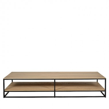 Charrell - COFFEE TABLE DOUBLE DECK 200/100 - 200 X 100 - H 38 CM