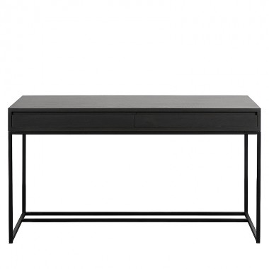 Charrell - DESK FERRUM 140 - 2 DRAWERS - 140 X 65 - H 77 CM