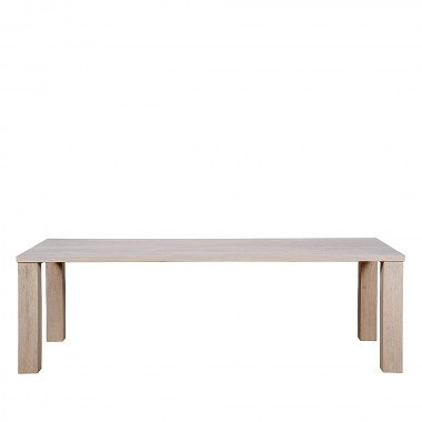 Charrell - DINING TABLE MARCHWOOD 220/100 - 220 X 100 - H 76 CM