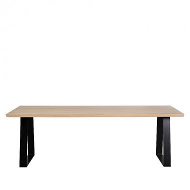 Charrell - DINING TABLE SAMBER 240/100 - 240 X 100 - H 76 CM