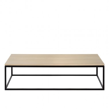 Charrell - COFFEE TABLE FERRUM 140/70 - SINGLE - 140 X 70 - H 38 CM