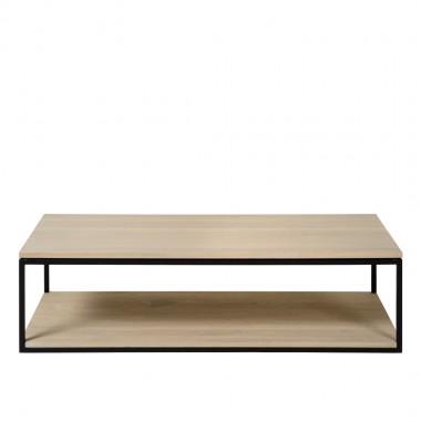 Charrell - COFFEE TABLE FERRUM 140/70 - DOUBLE - 140 X 70 - H 38 CM