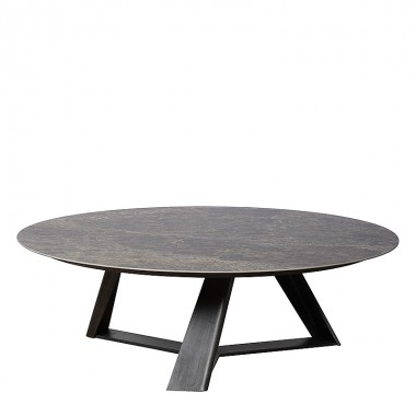 Charrell - COFFEE TABLE REAL - DIA 120 CM - CER 903