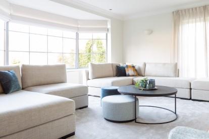 Koffietafel Todd Combo en zetel / sofa Devino by Charrell voor een landelijk moderne woonkamer.
